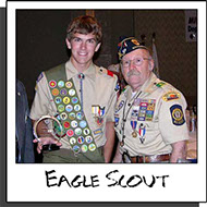 Eagle Scout of the Year Photo