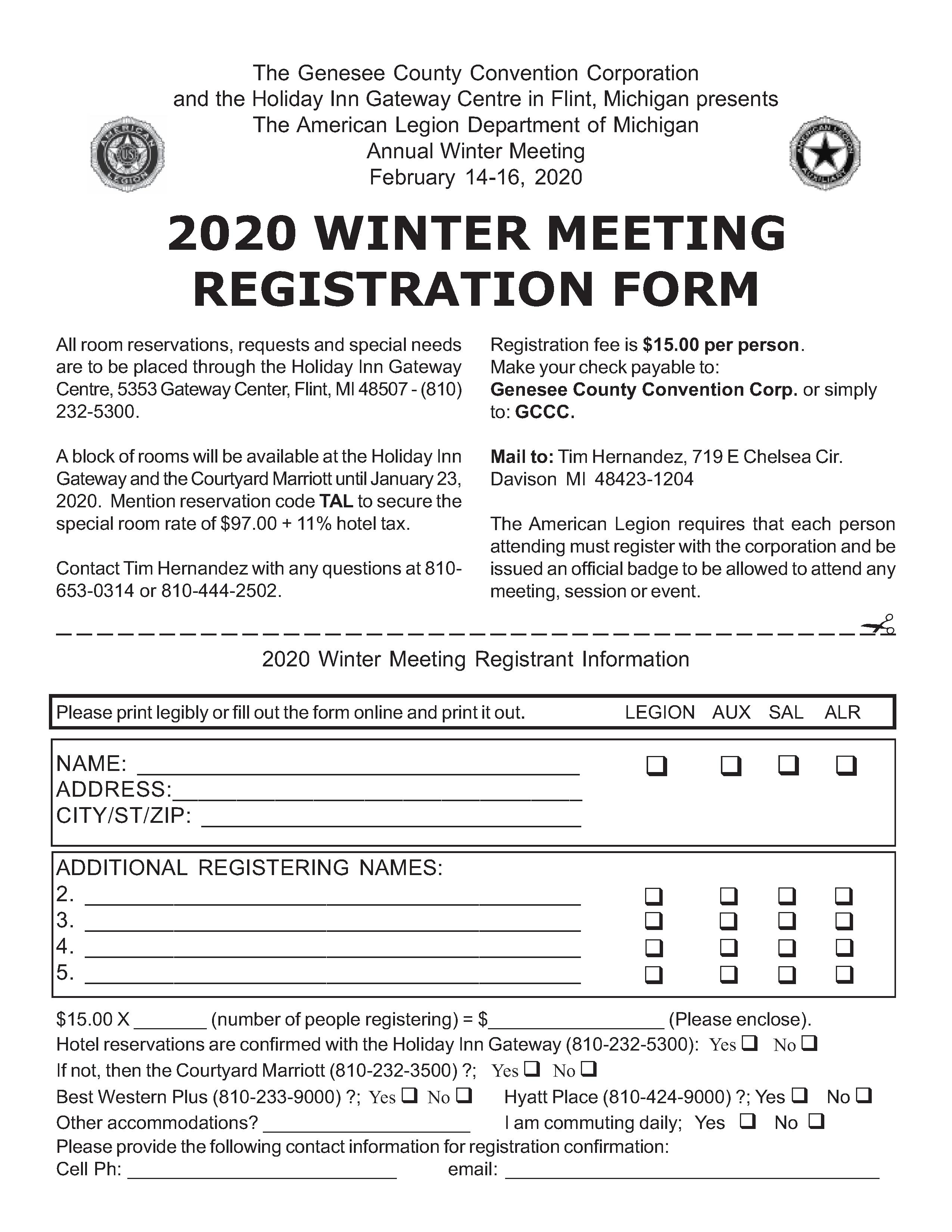 Register for 2020 Winter Meeting