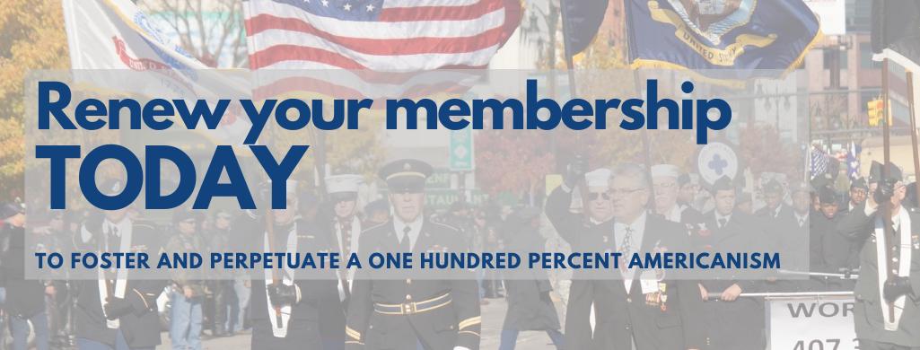 2020 Memberships expire December 31, 2020