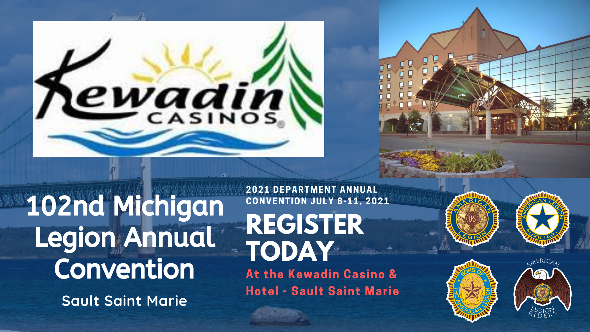We are planning the 2021 Department Annual Convention.  Click for the registration form.