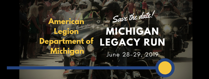 Learn about the 2019 Michigan Legacy Run click the photo