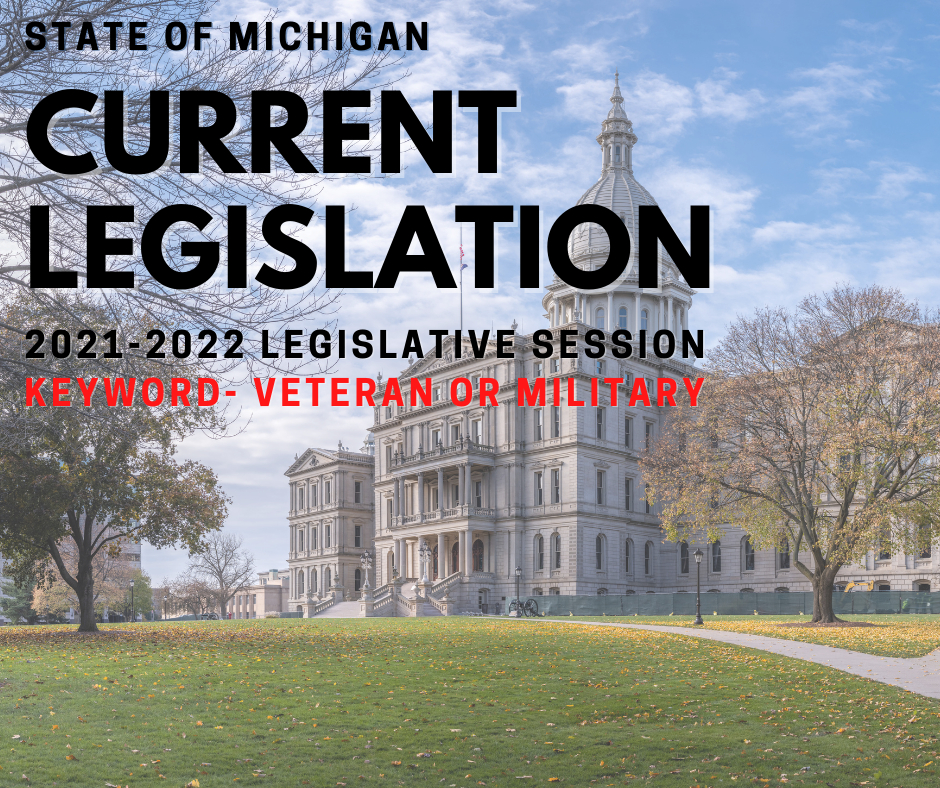 Current State Legislation for Veterans/Military