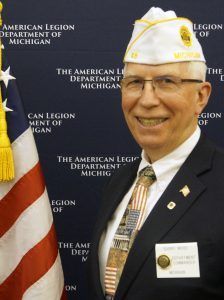 Barry Wood from American Legion Post 45 in Hastings was elected the 2019-2020 Department Commander.