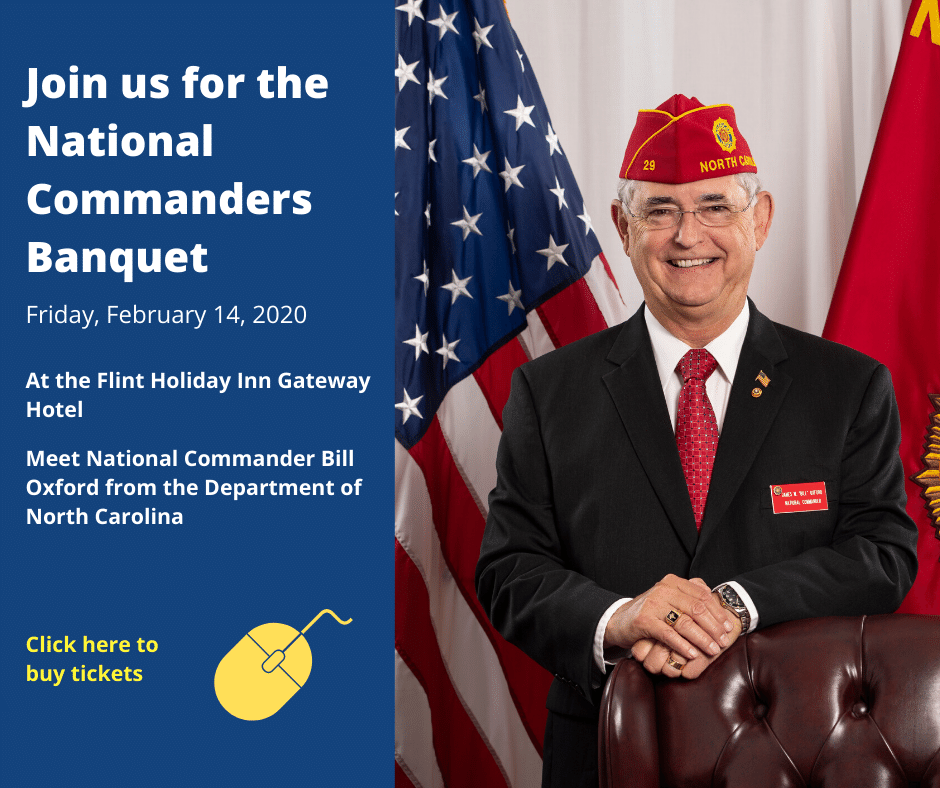 Join us for the National Commanders Banquet