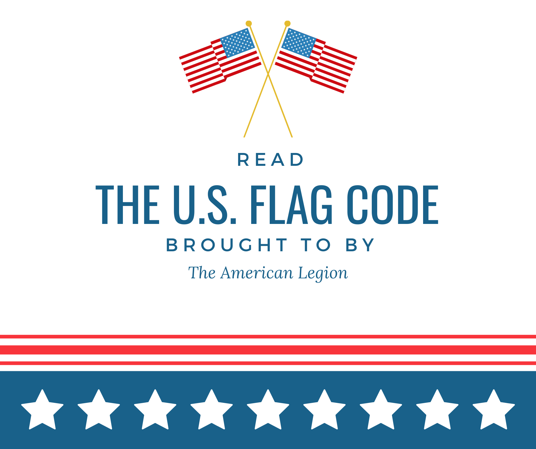 Read the current U.S. Flag Code.